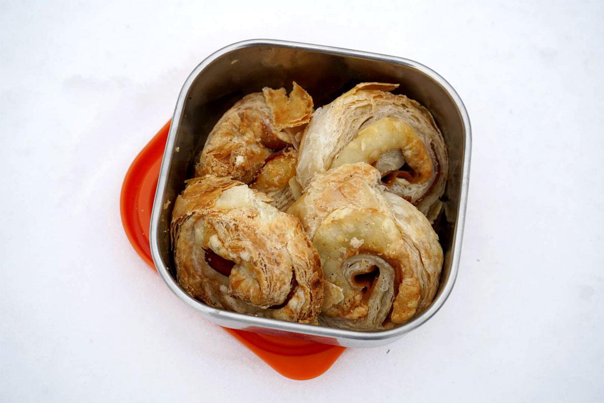 Turkey Swiss Rolls