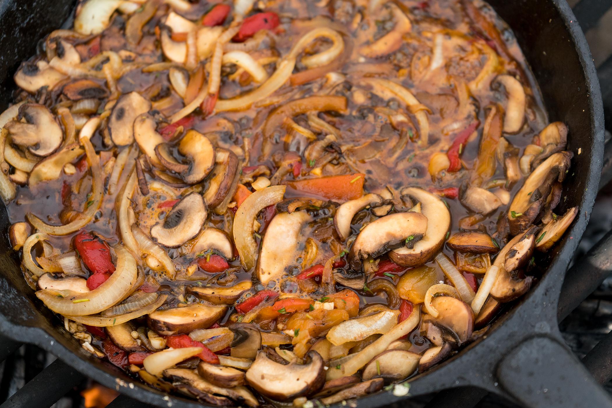 Mushroom French Dip